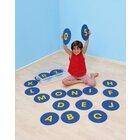 Buchstaben-Matten rutschfest 26 Stück ohne Kunststoffbox