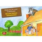 Kamishibai Bildkartenset - Die drei kleinen Schweinchen, ab 2 Jahren