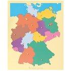Puzzlekarte Deutschland 109709