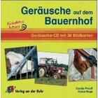 Geräusche auf dem Bauernhof, Bildkarten und Audio-CD, 4-10 Jahre