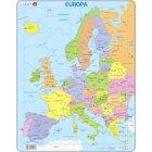 Larsen Lernpuzzle Europa (politisch)