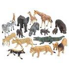 Tiere - Afrikanische Tiere, Savanne, 18 Teile