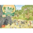 Kamishibai Bildkartenset - Ali Baba und die 40 Räuber, 4-8 Jahre