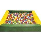 Bällchenpool grün-gelb 1,5 x 1,5 m