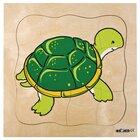 Lagenpuzzle Schildkröte