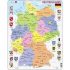 Larsen Lernpuzzle Deutschland (politisch)