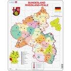 Larsen Lernpuzzle Bundesland Rheinland-Pfalz (politisch)