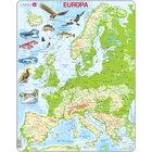 Larsen Lernpuzzle Europa physisch
