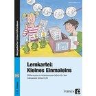 Lernkartei: Kleines Einmaleins, Broschüre, 2.-3. Klasse