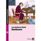 Lernstationen Musik: Beethoven, Broschüre inkl. CD, 3.-4. Klasse