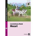 Lernstationen Musik: Mozart, Broschüre inkl. CD, 3.-4. Klasse