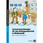 Lernvoraussetzungen Anfangsunterricht Mathe, Buch, Vorschule/1. Klasse