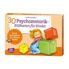 30 Psychomotorik-Bildkarten für Kinder, 3-8 Jahre