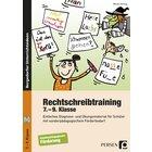 Rechtschreibtraining, Buch inkl. CD, 7.-9. Klasse