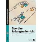 Sport im Anfangsunterricht, Buch inkl. CD, 1. Klasse