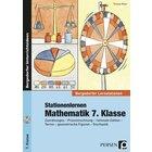 Stationenlernen Mathematik, Buch inkl. CD, 7. Klasse