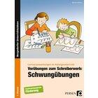 Vorübungen zum Schreiberwerb: Schwungübungen, Broschüre, Vorschule/1. Klasse