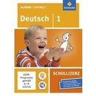 Alfons Lernwelt Deutsch 1 Schullizenz, DVD-ROM