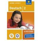 Alfons Lernwelt Deutsch 2 Schullizenz, CD-ROM