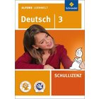 Alfons Lernwelt Deutsch 3 Schullizenz, DVD-ROM