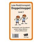 Lese-Reaktionsspiel: Doppelmoppel Level 1, 1.-4. Klasse