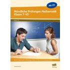 Mündliche Prüfungen Mathematik, Buch, 7.-10. Klasse