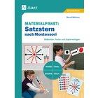 Materialpaket Satzstern nach Montessori, 3.-4. Klasse