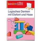 bambinoLÜK Logoisches Denken Elefant und Hase, Übungsheft, 3-5 Jahre
