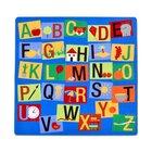 Teppich Buchstaben-Quadrat, 3-6 Jahre
