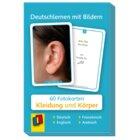 Deutschlernen mit Bildern - Kleidung und Körper, Bildkarten, 3-6 Jahre