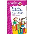 miniLÜK Set Deutsch und Mathe, 2 Hefte inkl. Kontrollgerät, 1.Klasse