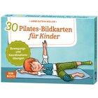 30 Pilates-Bildkarten für Kinder, 4-10 Jahre