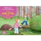 Kamishibai Bildkartenset - Einen Waldtag erleben mit Emma und Paul, 1-5 Jahre