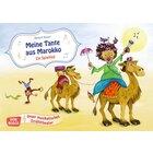 Kamishibai Bildkartenset - Meine Tante aus Marokko. Ein Spiellied, 2 bis 8 Jahre