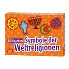 Bildkarten Symbole der Weltreligionen, ab 6 Jahre