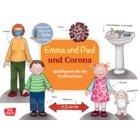 Emma und Paul und Corona. Spielfiguren für die Erzählschiene, 1-5 Jahre