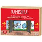 Kamishibai mit seitlichem Einschub und Flügeltüren.Erzähltheater für BildkarteninDIN A3