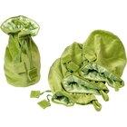 Samtbeutel klein, grün