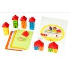 Wir bauen ein Haus, Farbwürfel-Spiel, ab 2 Jahre