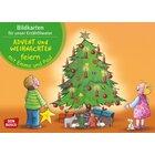 Kamishibai Bildkartenset - Advent und Weihnachten mit Emma und Paul