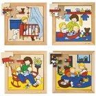 Baby-Puzzles - 4er Set, ab 3 Jahre
