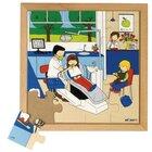 Gesundheits-Puzzle - Zahnarzt, ab 4 Jahre