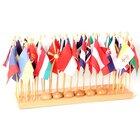 Flaggenständer mit Flaggen (Europa)