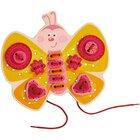 Fädelspiel Schmetterling, ab 3 Jahre