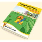 732 Preschool block - Logical thinking, solving puzzles and tasks 5 years and up, A5-Block