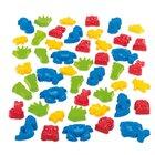 dantoy® Sandspielzeug, Riesen-Sandform Set, 48 Formen