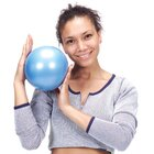 Gymnic Over Ki Ball 15 cm, blau