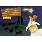 Kamishibai Bildkartenset - Alle Tiere nah und fern wollen gern zum Weihnachtsstern