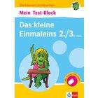 Die kleinen Lerndrachen - Mein Test-Block: Das kleine Einmaleins, Buch, 2.-3. Klasse