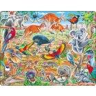 Larsen Lernpuzzle Australiens Wildnis